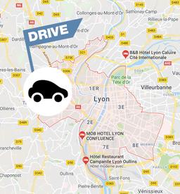 CARTE DE FRANCE DRIVE