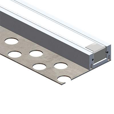 Profil Aluminium  Encastr Plaque Platre