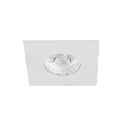 Europole Luminaire Encastre Interieur Collerette Blanc Led Up Universal Carre Fixe 5720 2 R