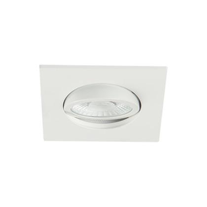 Europole Luminaire Encastre Interieur Collerette Blanc Led Up Universal Carre Ori 5730 2 R