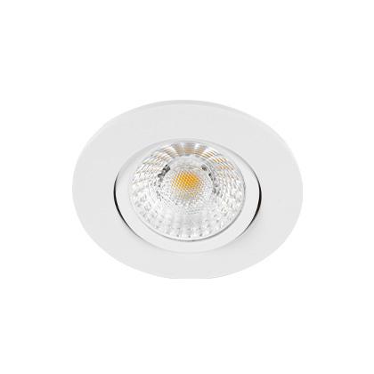 Europole Luminaire Encastres Interieurs Led Up Universal Switch Orientable Blanc Mat R